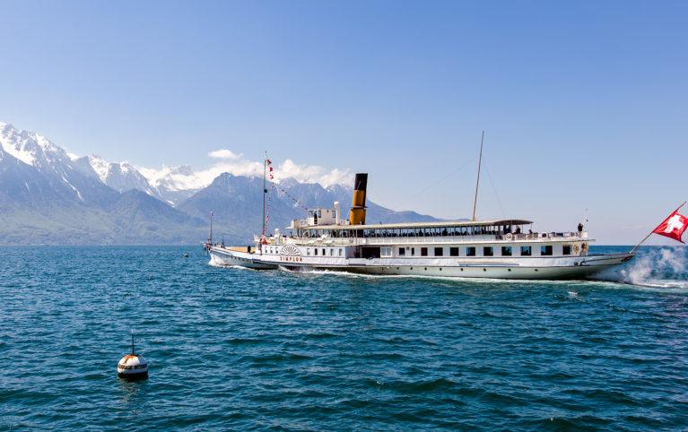 Eröffnung des Frühlingsfahrplans an Bord D/S La Suisse und D/S Simplon