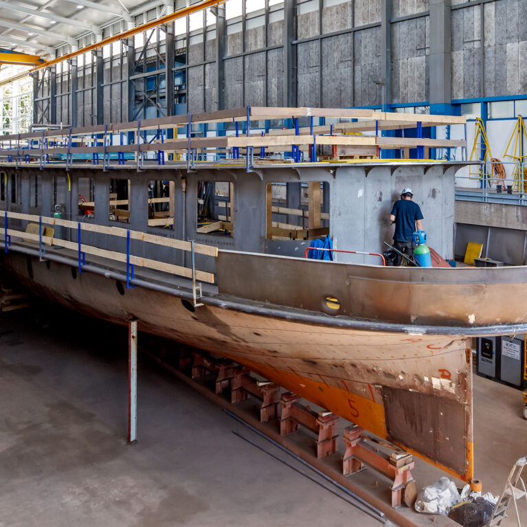"""Next event: progress of renovation work on the """"Rhône"""" and cruise"""