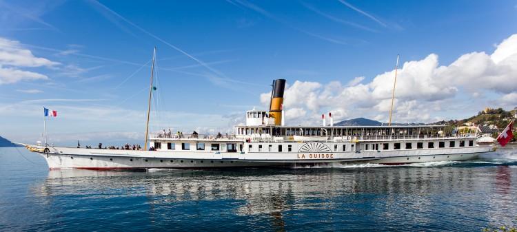 Départ du S/S La Suisse de Montreux en course 920