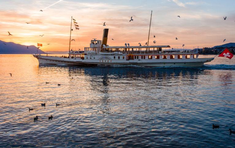 """EVENT: Croisière fondue à bord du """"Vevey"""" au départ de Genève"""
